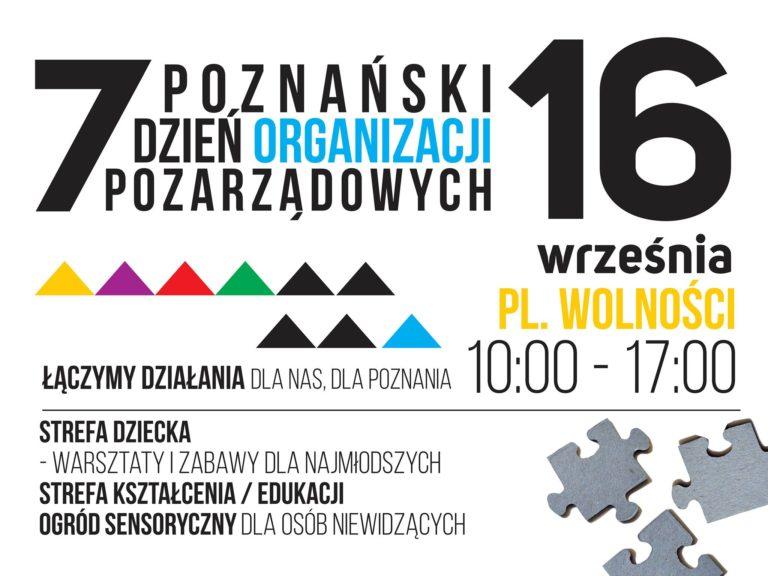 VII Poznański Dzień i Tydzień Organizacji Pozarządowych